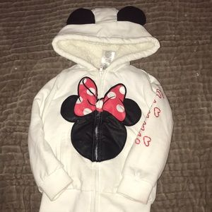 Disney Minnie Mouse jacket. Size 3T